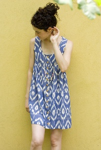 Wiksten dress--love the ikat