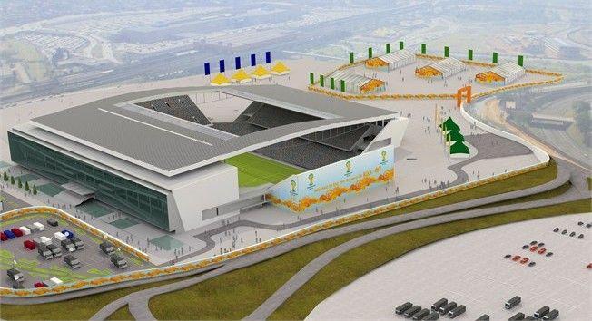 Arena de São Paulo - São Paulo: (por construir)