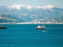The Harbour across to Lower/Upper Hutt