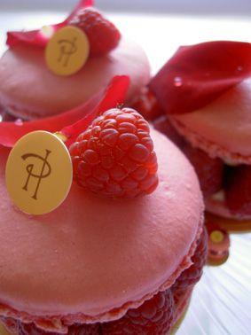 Pink Macarons (Ispahan) by Pierre Hermé