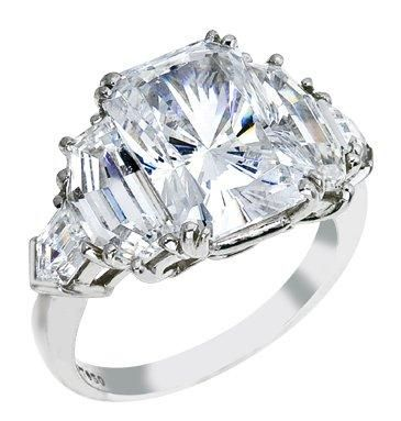 Engagement ring designs emerald cut 49 easily distracted for Jenn im wedding ring