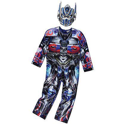 Transformers Optimus Prime Fancy Dress Costume   Kids   George