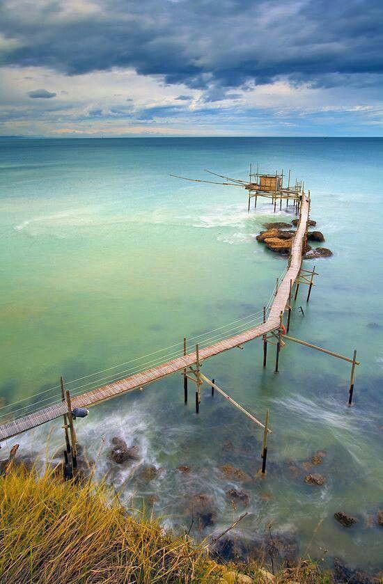 Abandoned Pier | Abruzzo, Italy