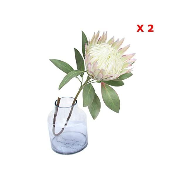 Calcifer 1 Pcs 75 Cm The King Protea Protea Cynaroides Artificial Flowers Plants For Home Garden Wedding Party Decoration Beige 2 Silk Flower Arrangement In 2020 Artificial Flowers And Plants Artificial Flowers Silk Flower Arrangements