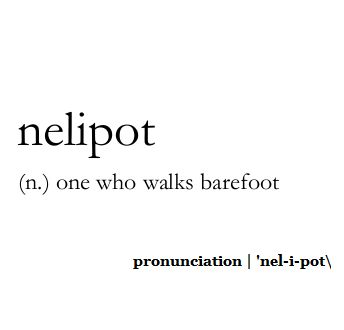 love this word - [someone else's caption; I agree]