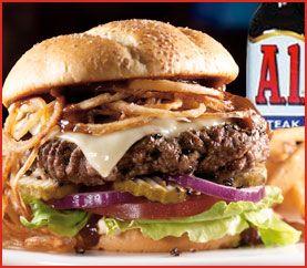 Applebee's Restaurant Copycat Recipes: Steakhouse Burger
