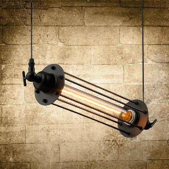Стиле лофт железа ретро эдисон подвесные светильники старинные промышленное освещение для столовой бар висит Droplight Lamparas