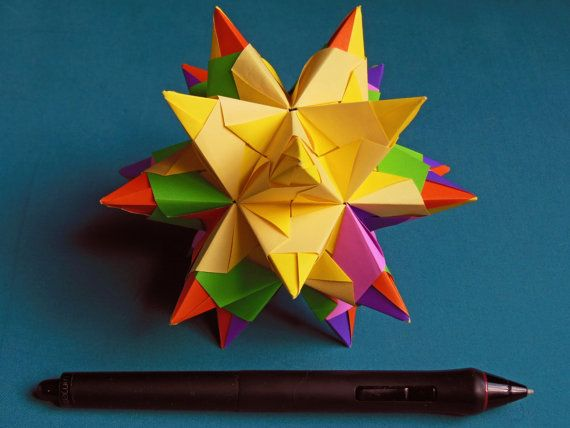 Bascetta Star by MadRianOrigami on Etsy