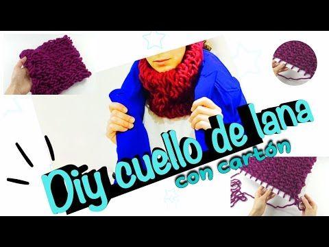 Lavora a maglia e crea un accessorio per l'inverno, basta un po' di lana e un pezzo di cartone – MissCrafty