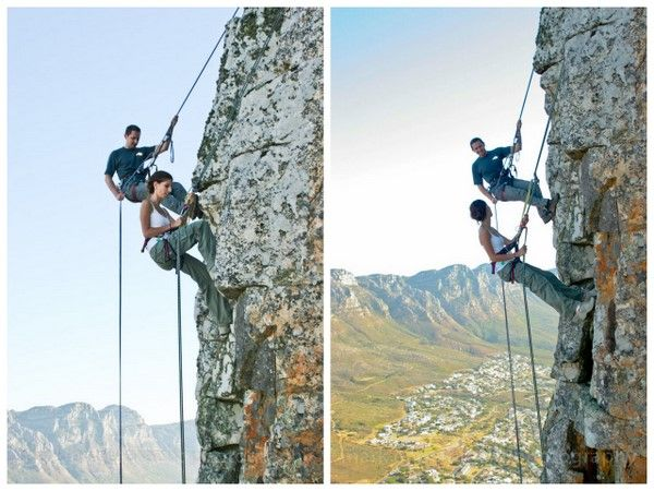 mencari referensi dengan tema  Mountain climbing engagement