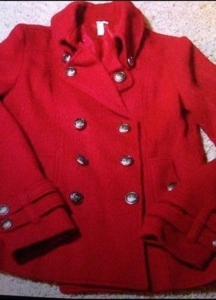 Buy my item on #vinted http://www.vinted.com/womens-clothing/peacoats/22167562-beautiful-high-fashion-for-less-like-chanel-15k-red-military-style-jacket-peacoat-beatuiful-buttons  LIKE CHANEL 15K STYLE! #highfashionforless