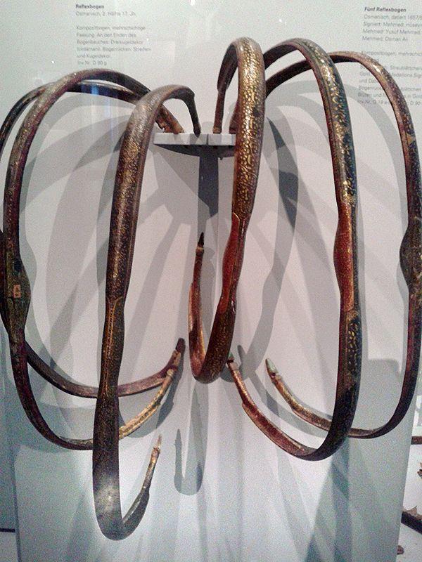 Ottoman bows, Badisches Landesmuseum Karlsruhe.