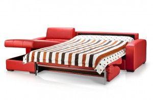 Red Sofa bed @Lifetime Home Furnishings.com