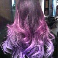 Фиолетовые волосы: кому идут, как покрасить и убрать оттенок (фото девушек, видео и отзывы)