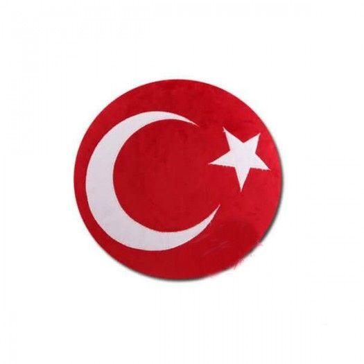 Türk Bayrağı Emoji Yastık