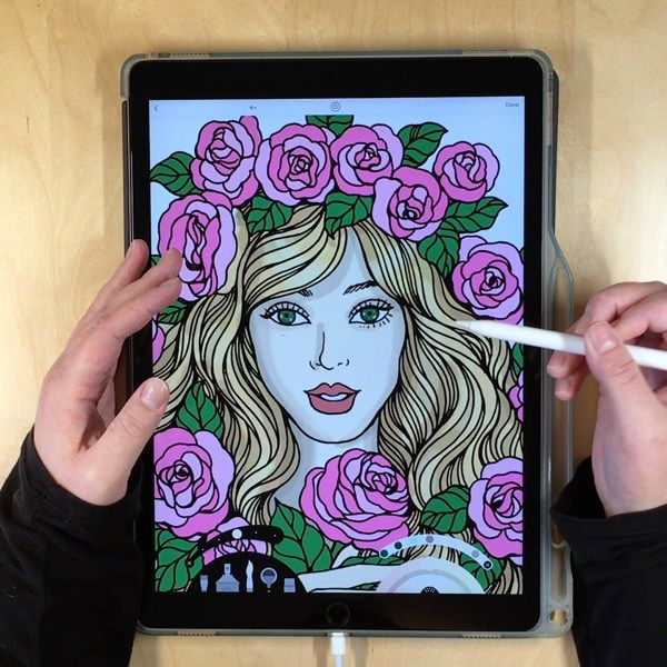 Pin On Adult Colorists Of Pinterest :: Adult Coloring Inspiration / Colored  Pages