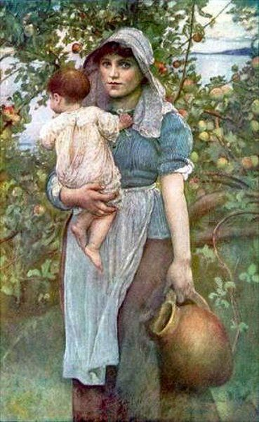 The Young Mother, undated - Annie Louise Swynnerton