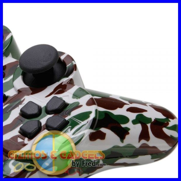 Most of all camo colors available. Wireless PS3 remotes. non-oem. great buy. details at: gizmosandgadgetsbyfred.com