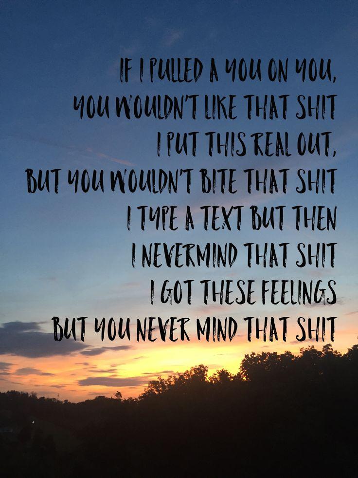 I hate the way you lyrics