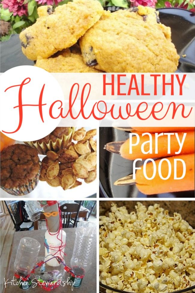easy healthy school halloween party plan with no sugar