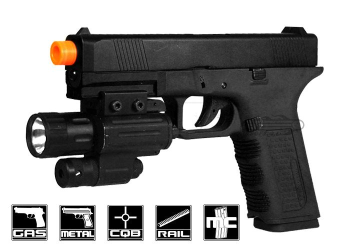 Echo 1 Full Metal Timberwolf Airsoft Gun