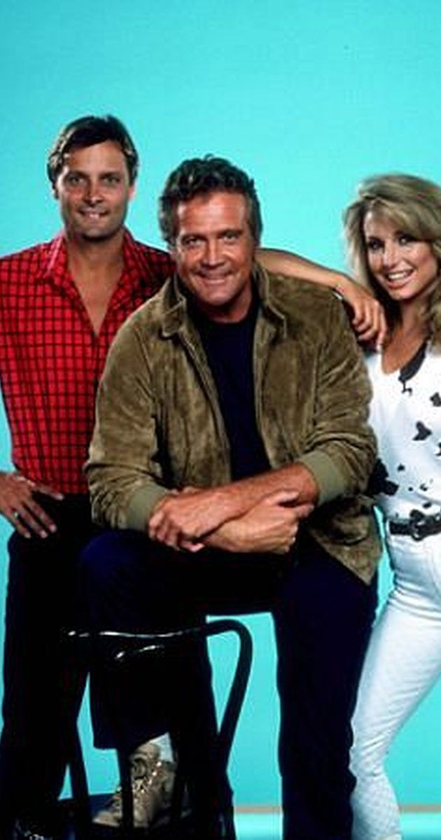 Created by Glen A. Larson.  With Lee Majors, Douglas Barr, Heather Thomas, Markie Post. The adventures of a film stunt performer who moonlights as a bounty hunter when movie work is slow.