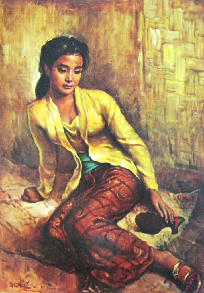 Basuki+Abdullah,+Gadis+Sunda,+Oil+on+Canvas,+90cm+X+65cm+(Jawa+Barat+1951)-koleksi+bung+karno.jpg (712×1024)