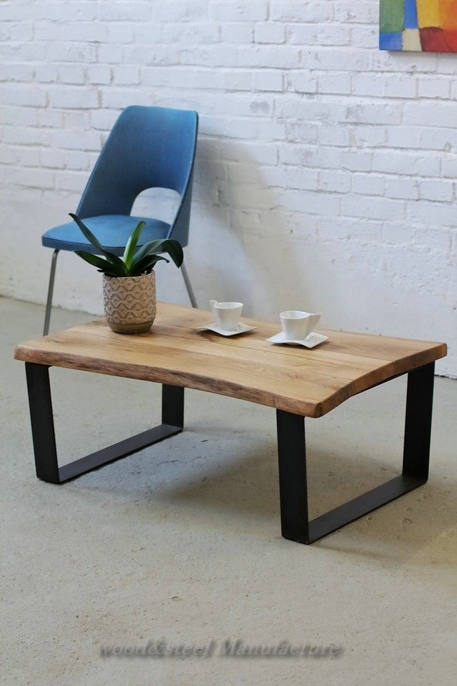 Coffeetable Couchtisch Loft Loftstyle Massivholz Solidwood