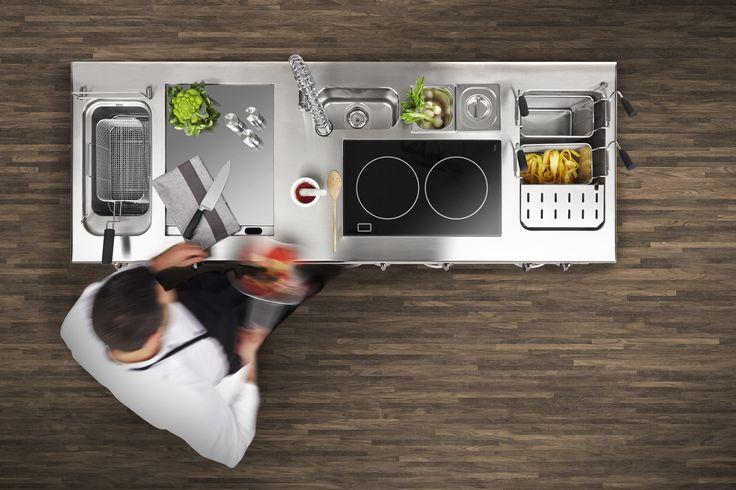 Our Evolution #professional kitchen. Monoblock. Finest #design for best performance. #Silko