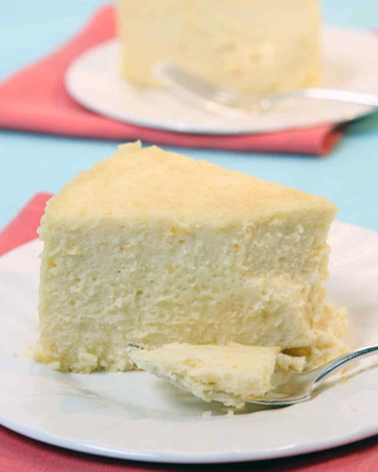 Easter Cheesecake | Martha Stewart Living - This is the very richest, smoothest cheesecake.