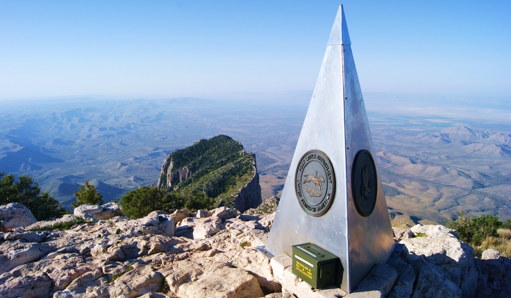 Guadalupe Peak, highest point in Texas - Guadalupe Mountains National Park