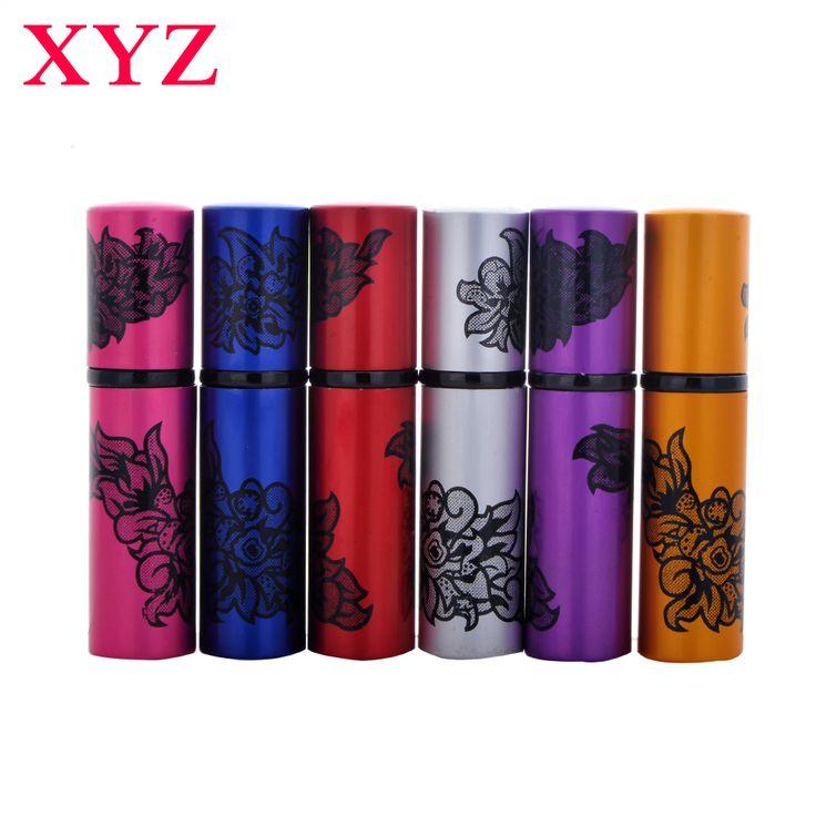 XYZ 1 Pcs 10 ML Mini Portabel Isi Ulang Parfum Atomizer Semprot Botol Parfum Kosong Botol Colorful 5CC Travel Aksesoris
