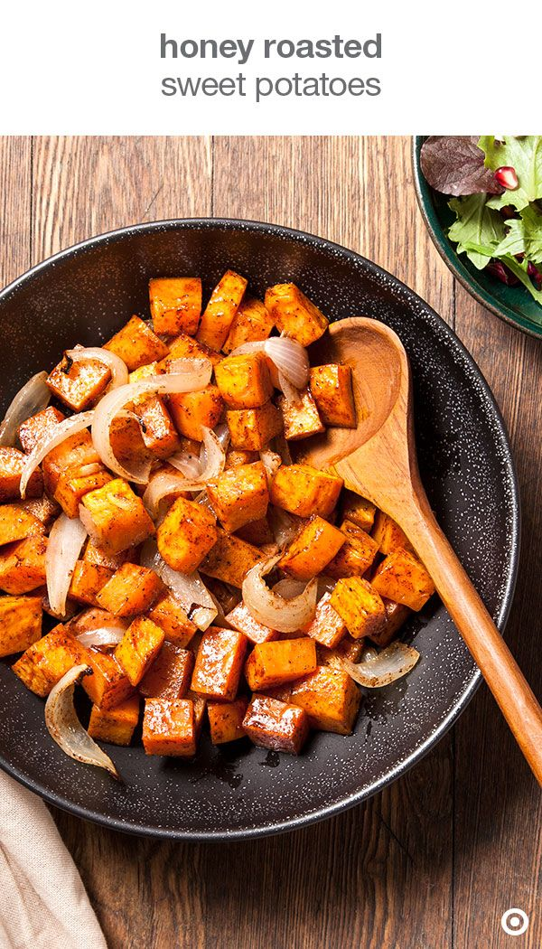 Roasted Sweet Potatoes With Honey Glaze Recipe — Dishmaps