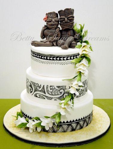 Nz Maori Wedding Cake