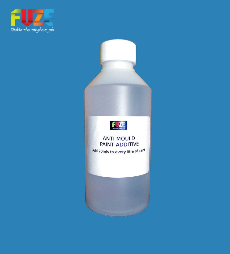 Fuze Anti-Mould Paint Additive, Treats Up To 12 Litres Of Paint, Preventing Mould From Growing On Treated Surfaces!