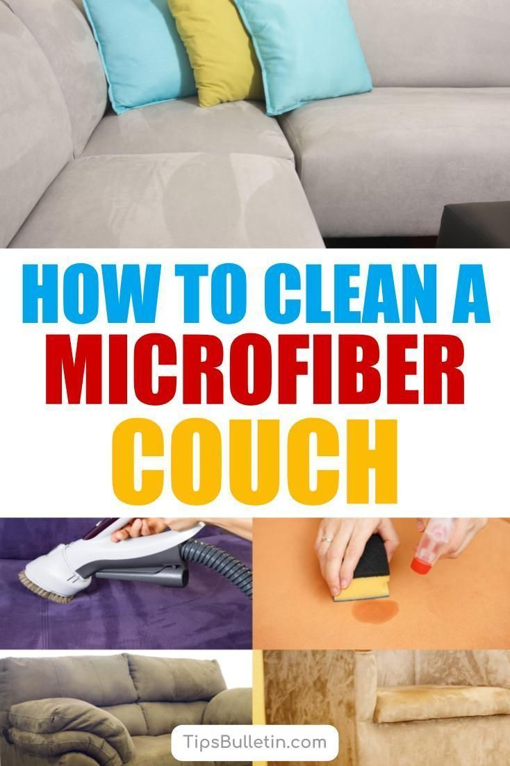 5 Smart Ways To Clean A Microfiber Couch Microfiber Couch