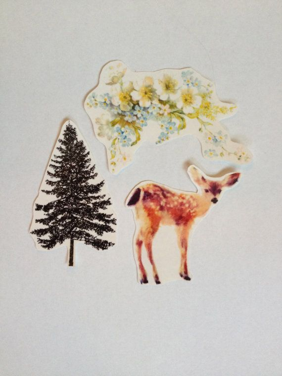 Woodland Temporary Tattoo Pack SmashTat by SmashTat on Etsy
