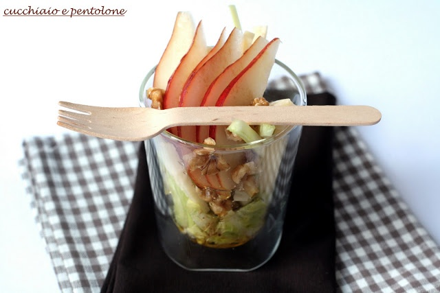 insalata di pere e fontina                     #recipe #juliesoissons