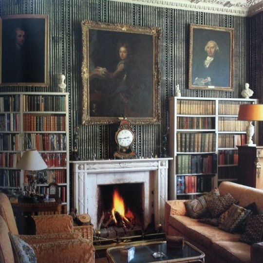 226 best images about classic english homes on pinterest for English library decor