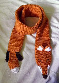 Free Knitting Pattern For Fox Scarf : Fancy Fox Scarf pattern by Katherine Dubsky Libraries, Pattern library and ...