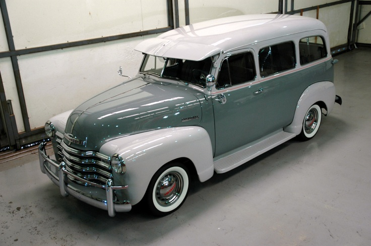 Vintage 1951 Chevy Carry All.