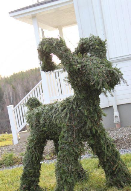 It's a house - en av Sveriges största inredningsbloggar: Snickra din egen julbock!