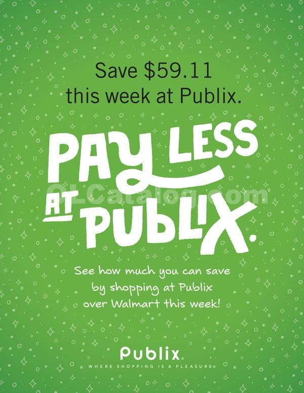 Publix Price Comparison January 31 – February 6, 2018 - http://www.olcatalog.com/grocery/publix-ad.html