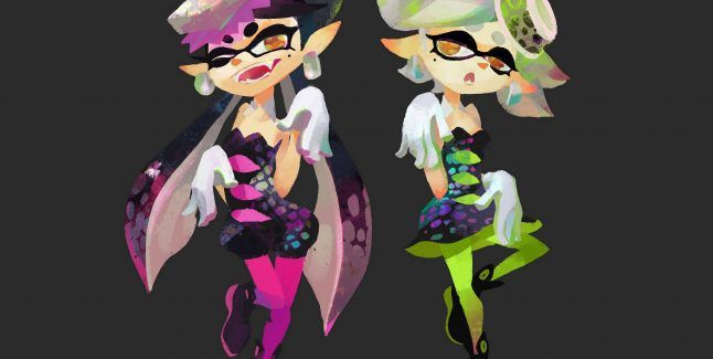 Inkling Coloring Pages Splatoon Boy Colouring Girl Splatoon39s Squid Sisters Amiibos Revealed Cyclops Art Therapy Printable Bear Viking Ship Page Famous Di 2020