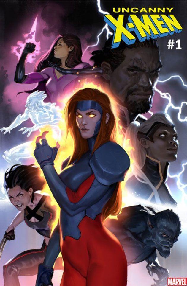 Uncanny X Men 1 2018 Complete Cover Checklist X Men All Marvel Heroes Marvel Comics Art
