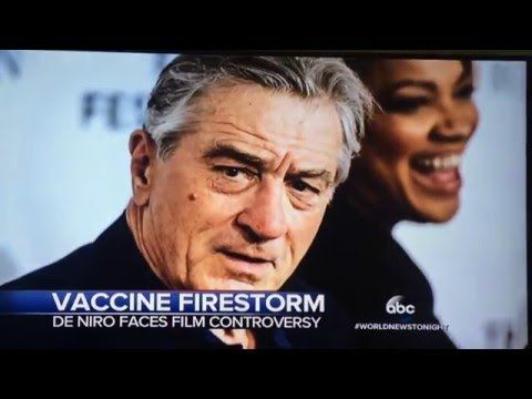 """Published on Mar 27, 2016 This is the full UNCUT interview that ABC World News conducted with Del Bigtree of the """"VAXXED"""" documentary now censored by Robert De Niro and the Tribeca Film…"""