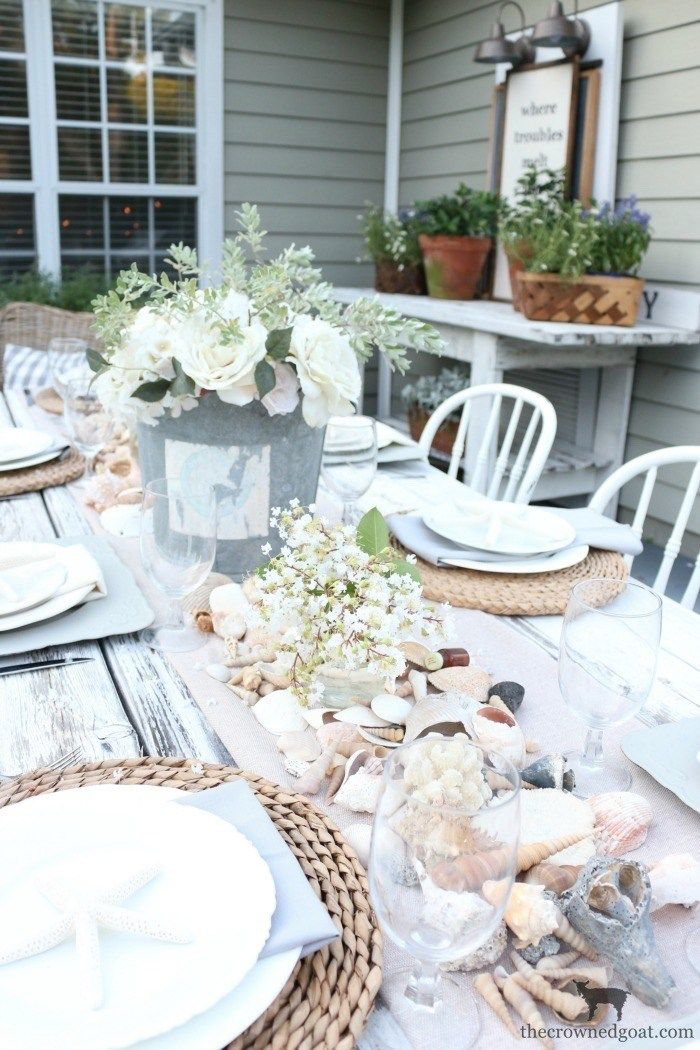 Coastal inspired tablescape coastal inspired tablescape the crowned goat junglespirit Gallery