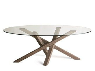 25 best ideas about table ronde en bois on pinterest - Table verre et bois ...