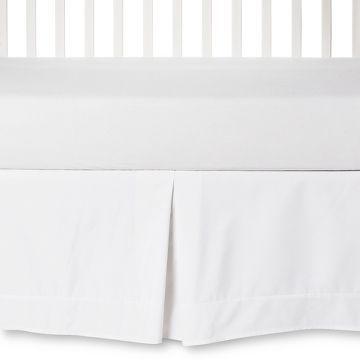 Circo™ Pleated Crib Skirt White