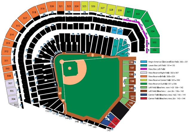 Group Tickets Seating Chart